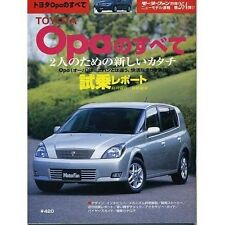 TOYOTA Opa Complete Data & Analysis Book