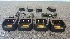 Lot Of 4 HYT CH10L19 Rapid Rate Single Unit Charger For TC508 TC518 TC580 Radios