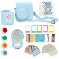 9 in 1 Instant Film Camera Bag Lens Album Bundles Kit for Fujifilm Instax Mini 8