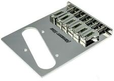 HIPSHOT Stainless Steel 6-saddle 3-hole bridge for Telecaster