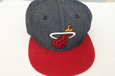 Miami heat denim nba 59 fifty NEW ERA cap taille adulte 7 1/4 ou 57.7 cms