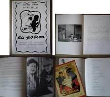 LA POISON - Simon,Carton,De FunèsGuitry - DOSSIER DE PRESSE/FRENCH PRESSBOOK