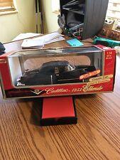 1/18 Anson 1953 Cadillac Eldorado Eisehower Dream Car Soft Top Black MIB
