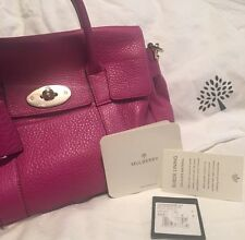 Authentic Mulberry Small Bayswater Satchel Excellent Condition, Barely Used