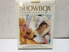 New Burnes Showbox Photo Viewer Holds Up To 40 Photos BABY EDITION