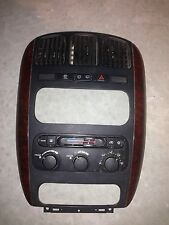 2001 Dodge Caravan Heater/ac Climate Control Assy With Bezel