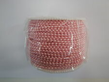 Pearls on String Candy Pink 3mm - 5 metres