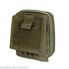 Condor MA35 Tactical Map Pouch OD Green - Holds pens, documents etc.