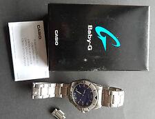 Casio Quarz Uhr mit Datum MTD 1039 blaues Ziffernblatt