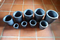 Graphite furnace casting foundry crucible melting tool 1,2,4,6,8,10,12,14,16 kg