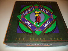 Ultra Rare COUNTRY CLUB GOLF GAME Board Game by Future Games COMPLETE EXCELLENT!