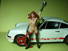FIGURINE  EROTIQUE  1/18  ALANIS   VROOM  A  PEINDRE  UNPAINTED  FIGURE   80 MM