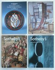 4 Sotheby's Auction Catalogs British Art w/ Irish Including Modern Painting (s)!