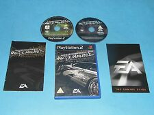 Need for speed most wanted-special limited black edition > jeu PS2 pal * gc