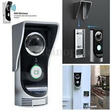 Wireless Video Doorbell Intercom Door Phone Wifi Peephole Viewer for Smart Phone
