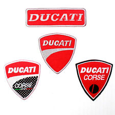 Lot 4 Ducati Meccanica Bolocna Italy motorcycles Racing Big Bike IRON ON PATCH