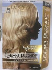 L'Oreal Dream Blonde Complete Color Care Sys#10 LIGHTEST BLONDE /ALLURING PEONY