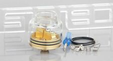 GOON Styled RDA Rebuildable Dripping a tomizer 25.5mm,Brass +Glass +Translucent