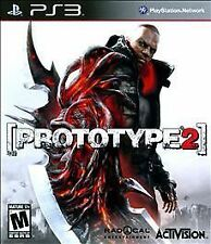 Prototype 2 PS3 Game, Instruction Booklet  & Free Prototype Download ($20 value)