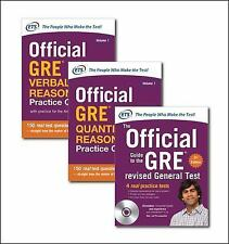 Official GRE Super Power Pack by Educational Testing Service (2015, Paperback...
