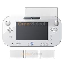 """3X Anti-Scratch Clear LCD Screen Guard Protector for Nintendo Wii U GamePad 6.2"""""""