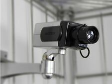 Dummy Security Camera - Dummy CCTV Camera - Motion Detecting + Free CCTV Sticker