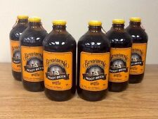 Bundaberg Root Beer Sixpack Old Fashioned Glass Bottled Soda