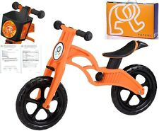 POPBIKE Children Kids Learning Balance Bike 12 EN71 & CE Certified Safety ORANGE