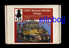 RESICAST* 1/35 LTD01 Shermann ARV Mk I complete resin kit - one of 150 produced