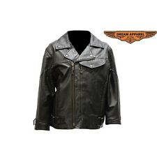Pistol Pete Leather Jacket For Women LJ7080-09