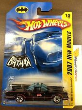 1966 TV Series Batmobile #15 * With MESH GRILL * 2007 Hot Wheels D7