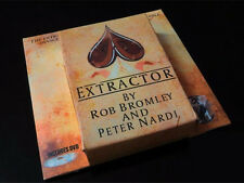 Extractor by Rob Bromley (DVD+Gimmick) - Card Magic trick,Mentalism,close up,fun
