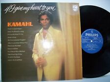 """12"""" VINYL LP. If I give my heart to you by Kamahl. 1975. Philips. 6357 030."""