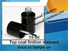15 ml  sous lampe uv ultra brillant pro gel de finition top coat soak off