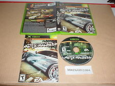 NEED FOR SPEED : MOST WANTED game complete w/ manual for Microsoft XBOX system