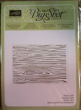 Stampin Up WOODGRAIN Textured Impressions Embossing Folder