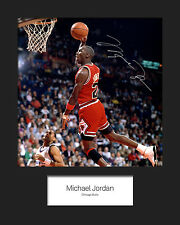 MICHAEL JORDAN #1 Signed 10x8 Mounted Photo Print - FREE DELIVERY