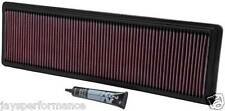 K&N 33-2591 SPORTS PERFORMANCE AIR FILTER PORSCHE 928 4.4/4.7/5.0/5.4