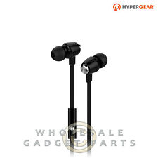 Naztech HyperGear dBm Wave 3.5mm Earphones w/Mic - Black Loud Audio Hear Sound