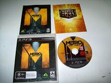 """Metro Last Light  PS3 Games  """"Tested And In Great Condition"""""""