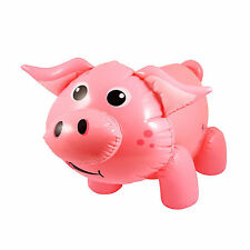 NEW INFLATABLE PIG FUN TOY ANIMAL FIGURE 55CM 21.6 INCH HB