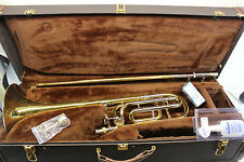 Bach Stradivarius 50B Bb 50 BASS Trombone PROFESSIONAL with F Trigger WoW