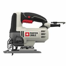 PORTER-CABLE PCE345 6-Amp Orbital Jig Saw 7 position speed dial integrated NEW..