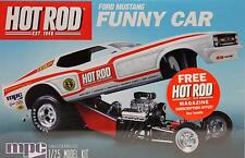 FORD MUSTANG MACH I FUNNY CAR  MPC 801 1:25 PLASTIC KIT NEW REISSUE ROUND 2