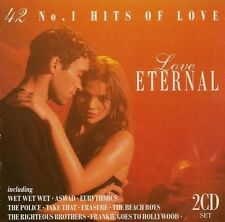 Love Eternal 42 No.1 Hits of Love - Various Artists  2 CD Set