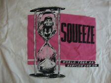 Vintage SQUEEZE Babylon and On 1988 Concert Tour 80's T shirt Adult M