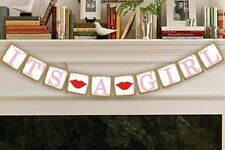 It's a Girl Banner Baby Shower Photo Props Baby shower Decorations USA