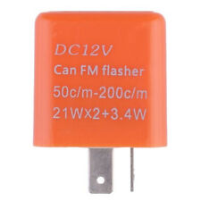 Motorcycle 5Y 2 Pin Indicator Relay Speed LED Signal Turn Flasher Adjustable