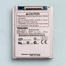 """TOSHIBA MK8009GAH 1.8"""" 80GB CE PATA ZIF HDD FOR DELL Latitude XT D420 D430"""