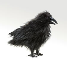 Folkmanis Raven Hand Puppet Bird Black Crow Stuffed Animal 3yrs+ NEW